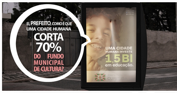 Prefeito Gustavo Fruet e Secretária de Finanças Eleonora Fruet: Invistam os devidos R$10.751.000 no Fundo Municipal de C