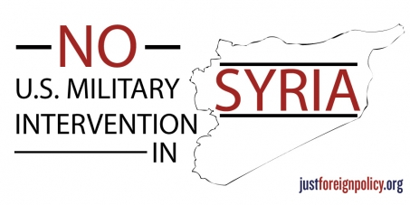 Tell Congress: Vote NO on Bombing Syria
