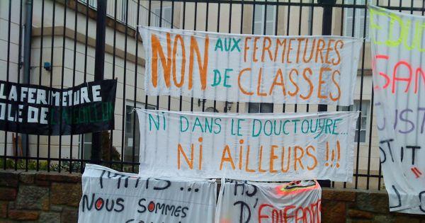 Inspection de l'Académie de Foix,Rectorat de Toulouse,Ministère de l'éducation: Maintien des écoles du RPI du Douctouyre