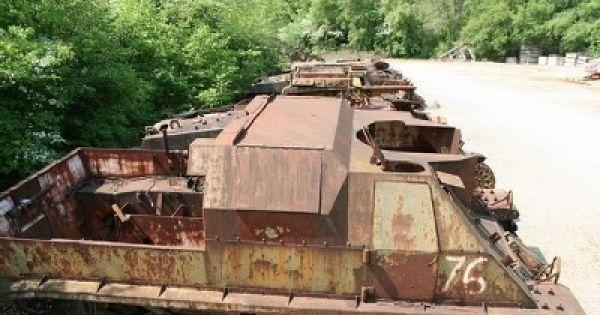 Save the last French Tank Lorraine 155 Automoteur Modèle 1951 !