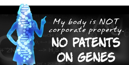 No a la esclavitud genética