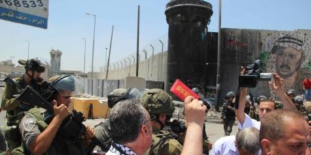 حرية الحركة للصحفيين الفلسطينيين