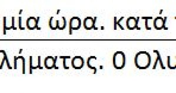 ΕΛΛΗΝΙΚΗ ΡΑΔΙΟΦΩΝΙΑ ΤΗΛΕΟΡΑΣΗ (ΕΡΤ) Α.Ε. : Γραμματική διόρθωση της κυλιόμενης γραμμής ειδήσεων
