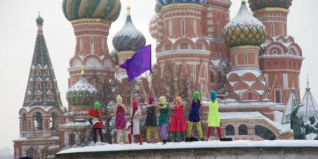 Soutenir et libérer les Pussy Riot Russes