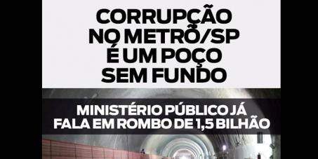 Petição pela PUNIÇÃO e contra a CORRUPÇÃO das obras do metrô de SP - #ForaAlckimin