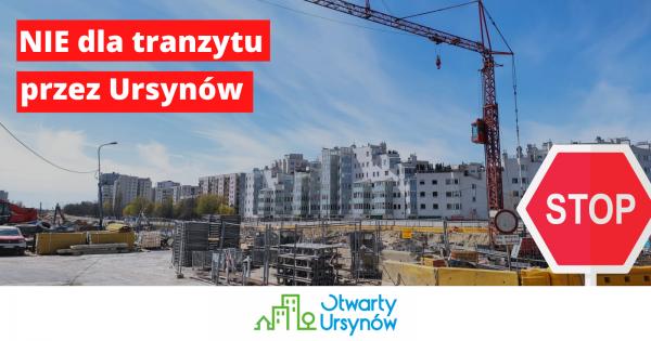 NIE dla tranzytu POW lokalnymi ulicami Ursynowa!