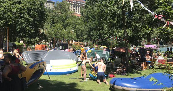 Freiraum im Park an der Dalmazibrücke erhalten! - Platz, Bewegung und Erholung für alle