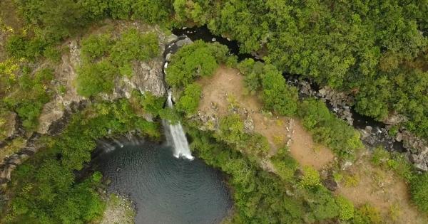 Monsieur le Président de la CA Sud: Sauvez la cascade de Grand bassin