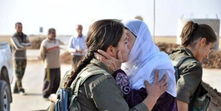 Aid the Kurds of Syria in their defence against ISIS