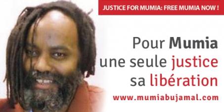 Pour Mumia Abu-Jamal, une seule justice : sa libération !