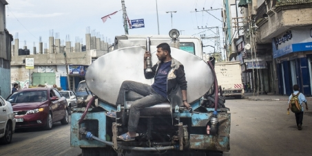 Gaza to run out of drinking water by 2016