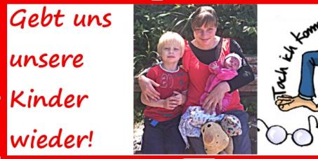 STOPPT Behördenwillkür und Zwangspsychiatrierung an Kleinkindern