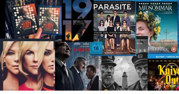 Lançamentos de filmes em mídia física