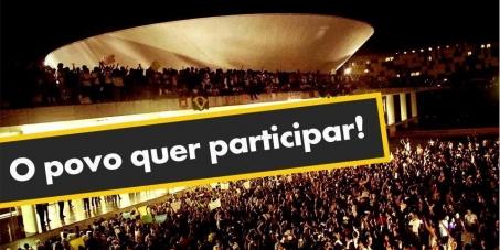 Membros do Congresso Nacional: Em defesa do Decreto de participação social