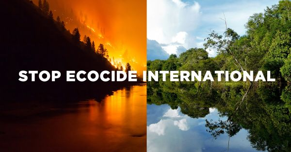 Make Ecocide an International Crime Against Peace