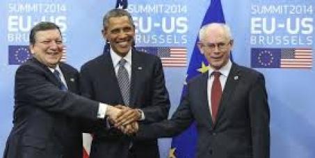 NO al (TTIP).Tratado de libre mercado UE y EE.UU: como veis, ellos están muy satisfechos.