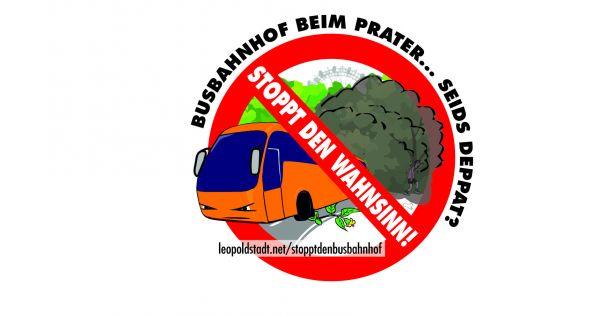"""Stopp für den Fernbusbahnhof beim Wiener """"Grünen Prater""""!"""