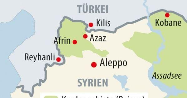 Türkische Botschaft, Bern: Operation Olivenzweig - Bitte um Rückzug aus Afrin