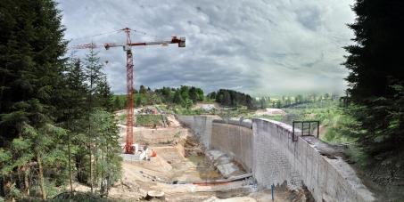 Non à la reconstruction du barrage des Plats !