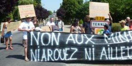 Non à l'exploitation de nos ressources minières pour un compte privé sur la Butte St Michel - Bretagne