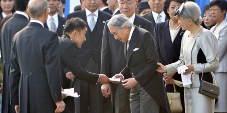 WORLD SUPPORT FOR TARO YAMAMOTO'S REMITTING HIS LETTER TO JAPAN EMPEROR