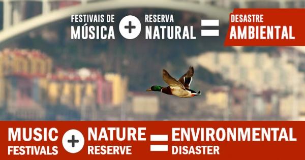 """Demand to change the place for the festival """"Marés Vivas"""""""