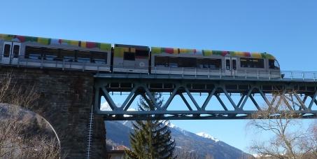 Kein weiterer Ausbau der Strecke Forst-Töll - Petition für die Elektrifizierung der Vinschger Bahn!