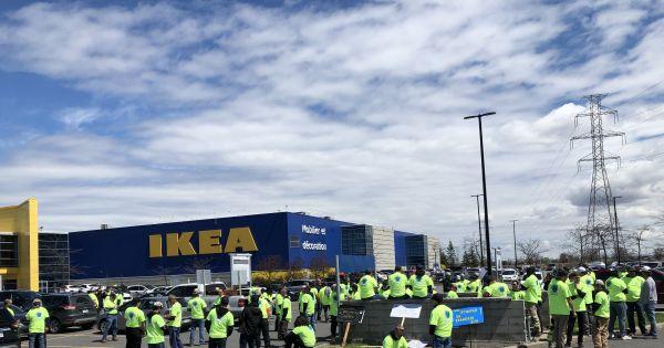 Pour le retrait de Schaefer de la gestion du Chantier Ikea de Beauharnois