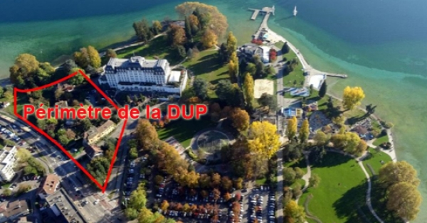 Sauvons la presqu'île d'Albigny ! Non au Centre des Congrès !