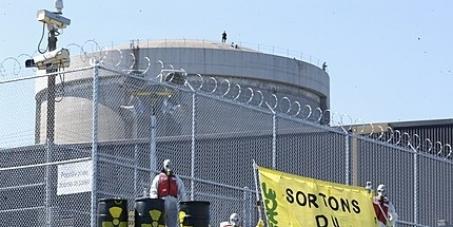 Pour la fermeture définitive de la centrale nucléaire Gentilly-2.