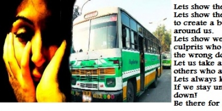 ACTION AGAINST RAPISTS IN INDIA - DELHI BUS RAPE CASE