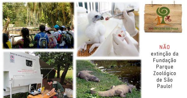 Fauna em Ameaça - NÃO a extinção do Zoológico de São Paulo