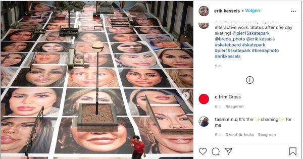 Kunst mag knagen - geef 'Destroy my Face' een nieuwe plek.
