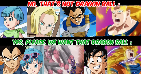 Toei Animation : please respect Dragon Ball and his fans