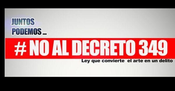 NO al decreto 349 Carta abierta al Presidente de Cuba Miguel Díaz-Canel