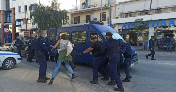 407 Κάτοικοι του Ρεθύμνου καταγγέλουν την αστυνομική βία στις 17 Νοεμβρίου