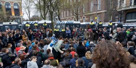 University of Amsterdam, Board of Directors (CvB), Resign! Restore democracy at the UvA!