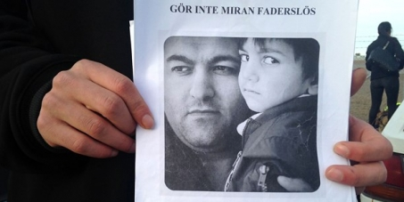 The Swedish Migration Board: Stop the deportation of Ghader Ghalamere to Iran