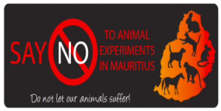 Say NO! to Animal Experiments in Mauritius!