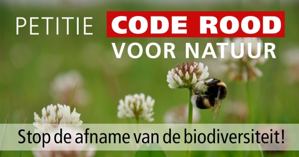 Code rood voor natuur is gehoord!