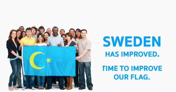 Afbeeldingsresultaat voor swedish flag moon