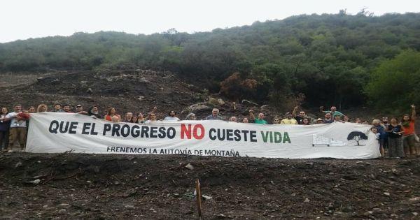 Petición para ANULAR el crédito de CAF que financia la autovía en Valle de Punilla