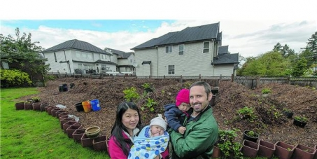 Protect our right to grow food in Canada. Save this permaculture garden!