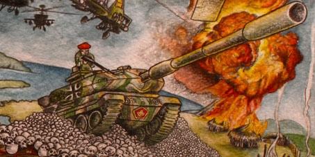 No tanks to Indonesia!