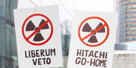 Implement decision of the referendum against the construction of a new nuclear power plant