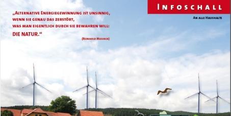 Bundeskanzlerin Angela Merkel : 10 fachen Abstand zu Windkraftanlagen für jeden Bürger