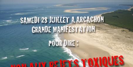 Stop à la pollution du Bassin d'Arcachon !