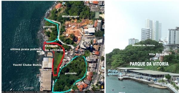 SPU/DF, SPU Bahia, SEMA/gov.BA, Salvador: ACM Neto, André Moreira Fraga: A realização imediata do Parque da Vitória, Bar