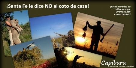 ¡Santa Fe le dice NO al coto de caza!