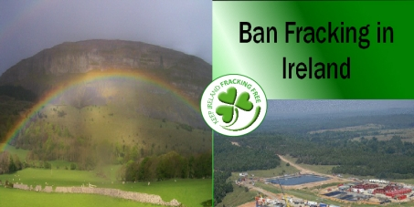 Onshore Fracking Ban Republic of Ireland signed into law.